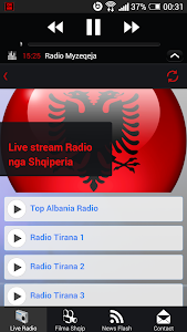 Albanian Live Radio - Lite screenshot 7