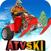 ATV Snow Ski Racing
