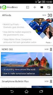 Socialife News: My RSS News - screenshot thumbnail
