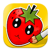 Coloring: Fruits for Kids