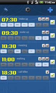 Smart Alarm Clock Free- screenshot thumbnail