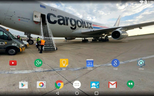 Panorama Wallpaper: Aerodrome
