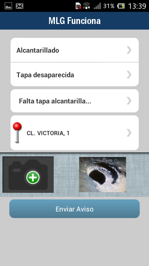 Málaga Funciona- screenshot