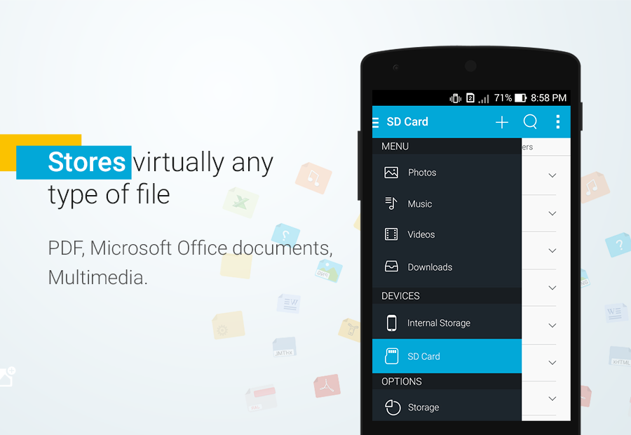 File Manager - File explorer- screenshot