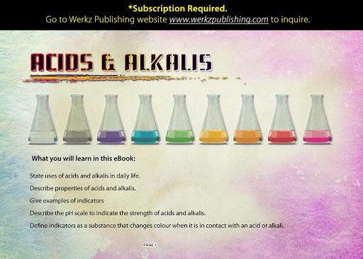 Acid and Alkalis