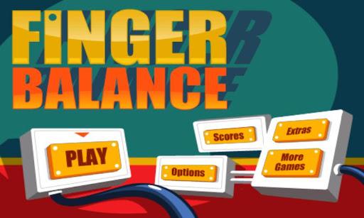 指先バランス Finger Balance