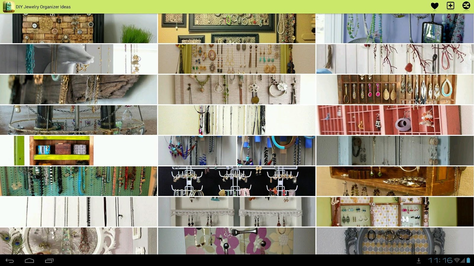 Bracelet Organizer Ideas Diy Jewelry Organizer Ideas Android Apps On Google Play