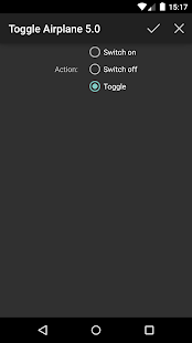 Toggle Airplane 5.0 (root)- screenshot thumbnail