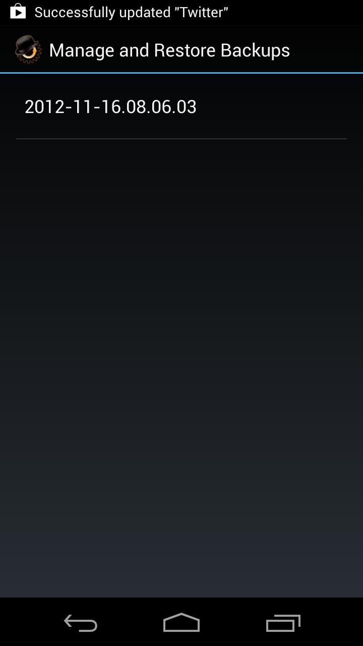 ROM Manager (Premium) screenshot #7