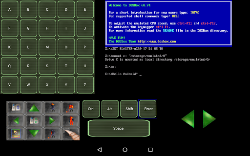 Screenshot for Magic DosBox in United States Play Store