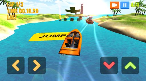 Игра Boat Racing для планшетов на Android