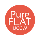 Pure Flat Clock for UCCW