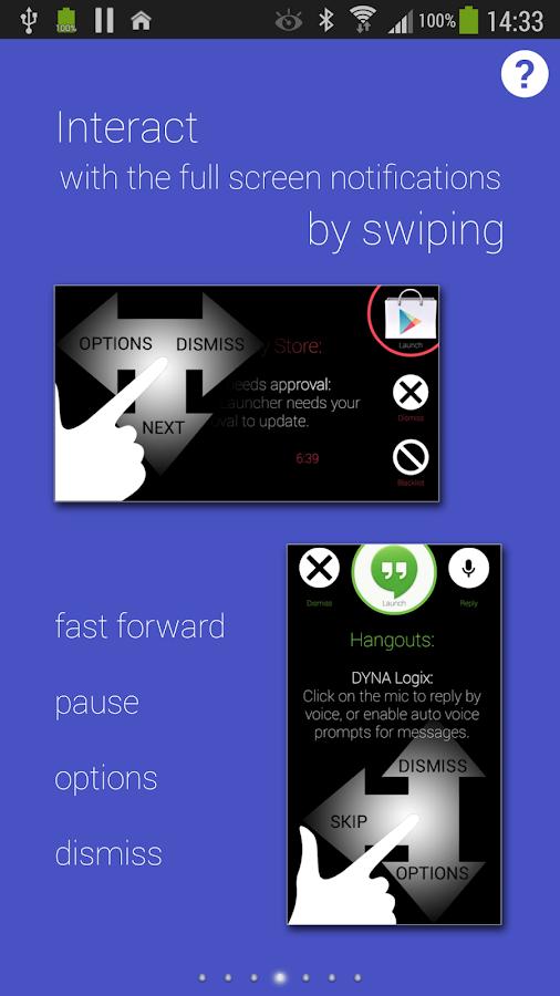 Touchless Notifications Pro - screenshot