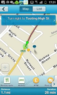 M8 free Sat Nav for UK & ROI - screenshot thumbnail