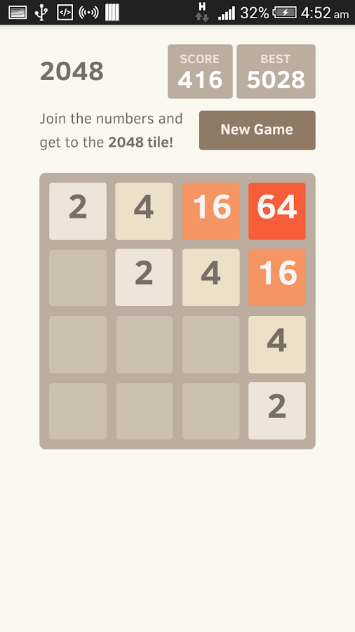 2048 Addictive Puzzle Game Pro- screenshot