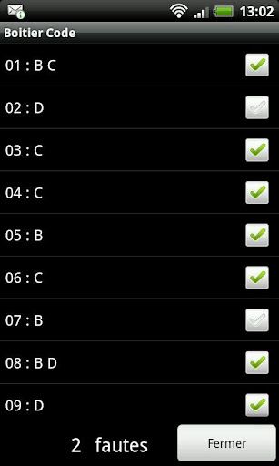 Boitier Code  screenshots 3