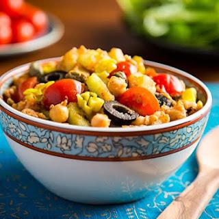 Tunisian-Inspired Chickpea and Potato Salad.