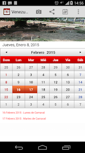 Venezuela Calendario 2015 - screenshot thumbnail