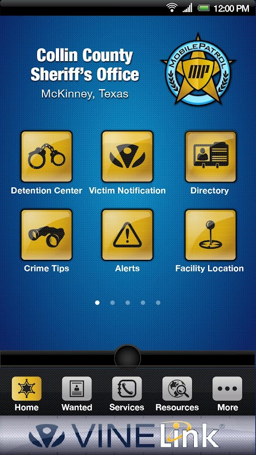 MobilePatrol - screenshot