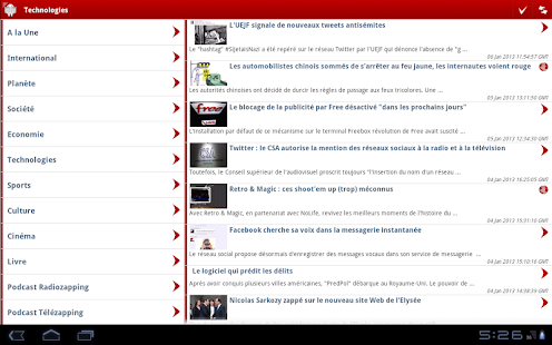 LeMonde.fr (non officiel) - screenshot thumbnail