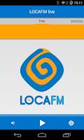 Screenshot of Loca FM