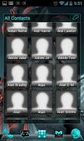 Screenshot of APW Theme ElectricCyan - Free