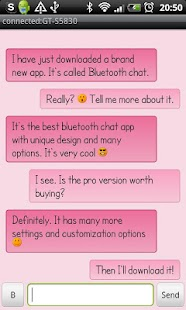 Bluetooth Chat Pro- screenshot thumbnail