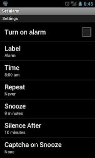 Alarm Clock - screenshot thumbnail