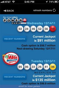 New Jersey Lottery - screenshot thumbnail