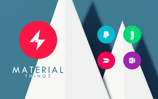 Material Things - Colorful Icon Pack (Pro Version)  screenshots 9
