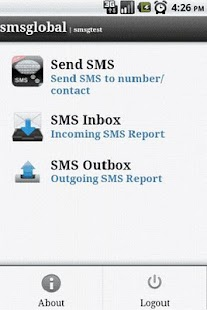 SMSApp by SMSGlobal - screenshot thumbnail