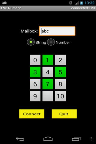 EV3 Numeric Remote