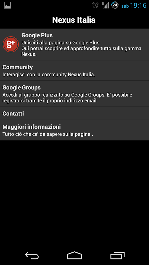 Nexus Italia Tools - screenshot