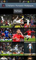 Screenshot of Cristiano Ronaldo Wallpapers