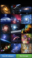 Screenshot of Galaxy Universe HD Wallpapers