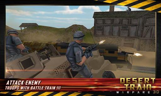 武装直升机战斗子弹头列车3D