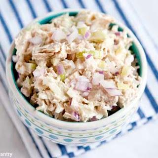 Clean Eating Traditional Tuna Salad.