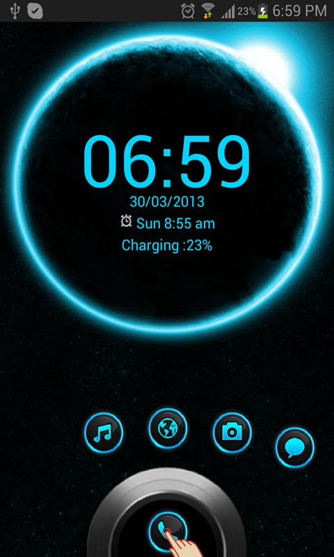 Eclipse HD Theme GO Locker - screenshot