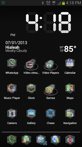 HD Icons: Crystal Cubes