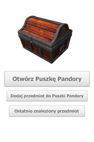 Puszka Pandory- screenshot