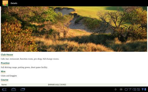 Golf Course Guide Aust Edition  screenshots 10