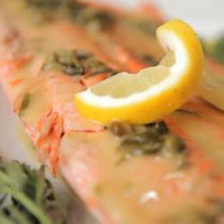 Salmon Baked In Salt Crust
