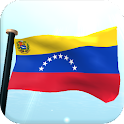 Venezuela Flag 3D Wallpaper icon