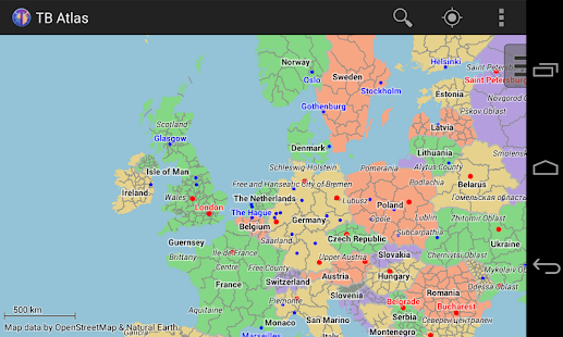 TB Atlas World Map Android Apps on Google Play