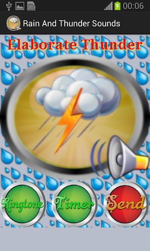 玩娛樂App|雨と雷の音免費|APP試玩