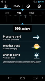 SyPressure (Barometer) - screenshot thumbnail