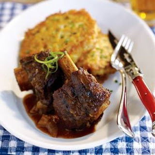 Bourbon and Black Pepper Braised Short Ribs