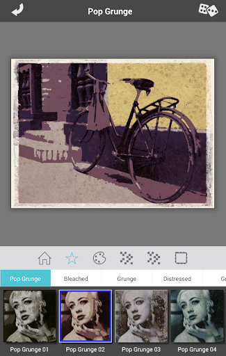 Grungetastic app for Android screenshot