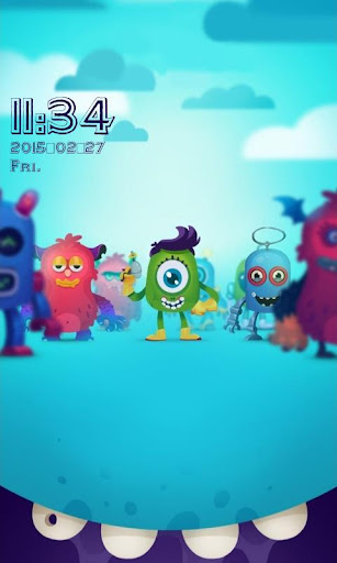 玩免費個人化APP|下載怪兽锁屏 app不用錢|硬是要APP