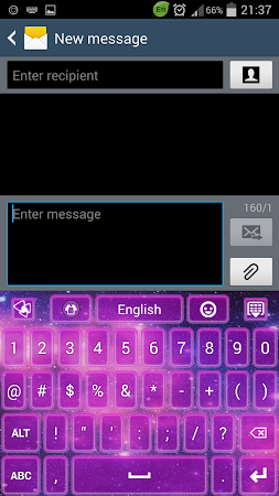Keyboard Galaxy 3.1 screenshot 191973